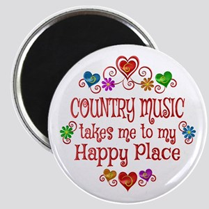 Country Happy Place Magnet