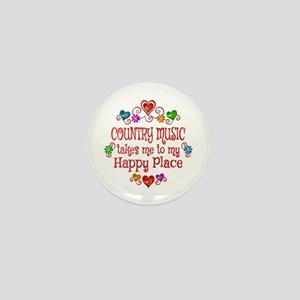 Country Happy Place Mini Button