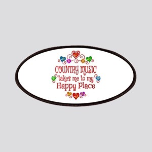 Country Happy Place Patch