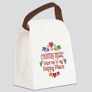 Country Happy Place Canvas Lunch Bag