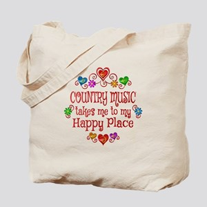 Country Happy Place Tote Bag