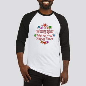 Country Happy Place Baseball Jersey