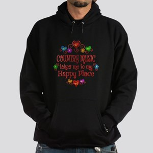Country Happy Place Hoodie (dark)
