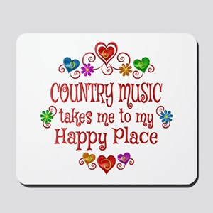 Country Happy Place Mousepad