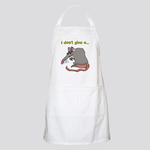 I don't give a rat's... Apron