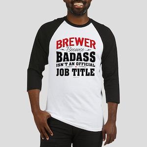 Badass Brewer Baseball Jersey
