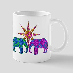 Paisley Elephants Mugs