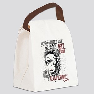 You are a Beautiful Monkey! Canvas Lunch Bag