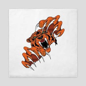 Scary Tiger Queen Duvet