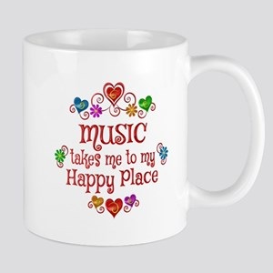 Music Happy Place Mug