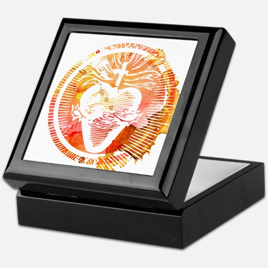 Sacred Heart Keepsake Box