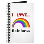 I Love Rainbows Journal