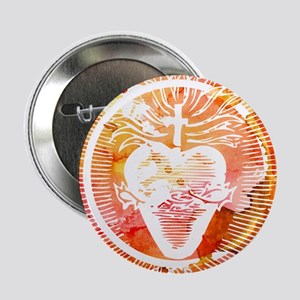 "Sacred Heart 2.25"" Button"