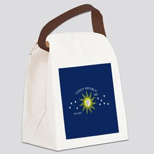 The Conch Republic Flag Canvas Lunch Bag