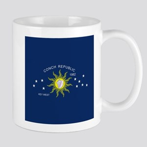 The Conch Republic Flag Mugs