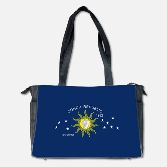 The Conch Republic Flag Diaper Bag