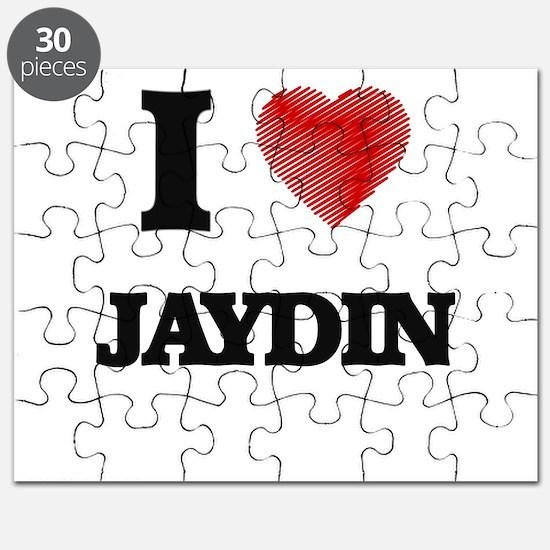 I love Jaydin Puzzle