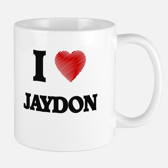 I love Jaydon Mugs