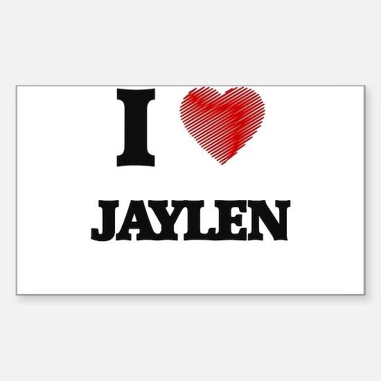 I love Jaylen Decal