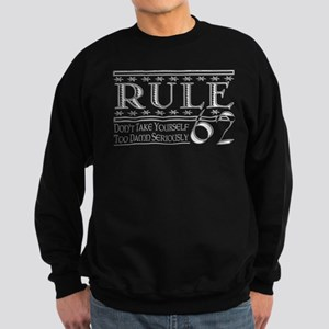 rule62white Sweatshirt