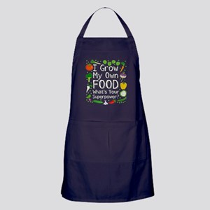 I Grow My Own Food Apron (dark)