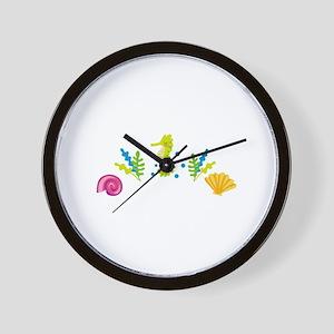 Ocean Life Arch Wall Clock