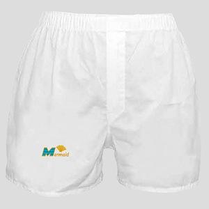 Mermaid Letters Boxer Shorts