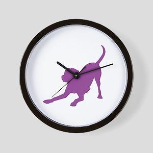 Lab 1C Purple Wall Clock