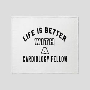 Cardiology Fellow Designs Throw Blanket