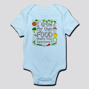 I Grow My Own Food Body Suit