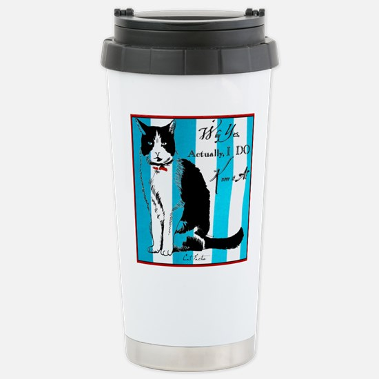 Cat Facts Why Yes, Actually I DO Know It All Mugs
