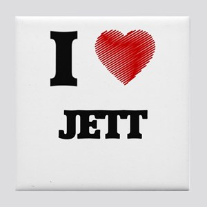 I love Jett Tile Coaster