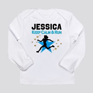 TRACK AND FIELD Long Sleeve Infant T-Shirt