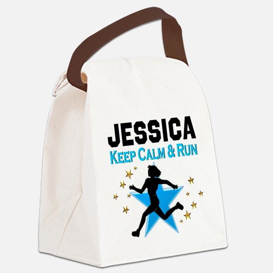 TRACK AND FIELD Canvas Lunch Bag