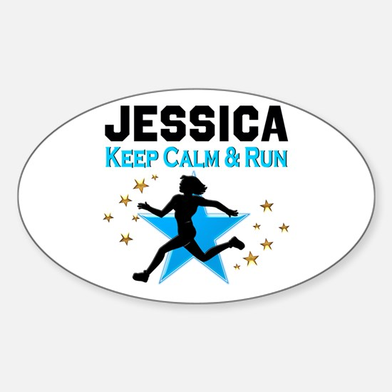 TRACK AND FIELD Sticker (Oval)