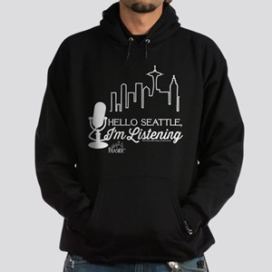 Frasier: Hello Seattle Hoodie (dark)