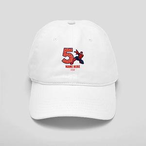 Spider-Man Personalized Birthday 5 Cap