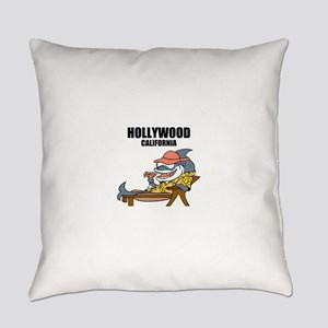 Hollywood, California Everyday Pillow