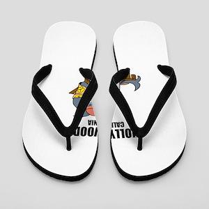 Hollywood, California Flip Flops