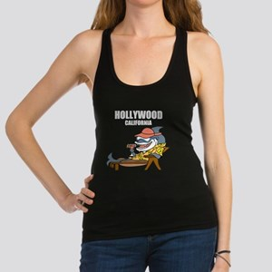 Hollywood, California Racerback Tank Top