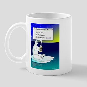 POLAR BEAR SEX MANUAL Mug