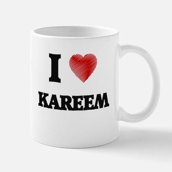 I love Kareem Mugs
