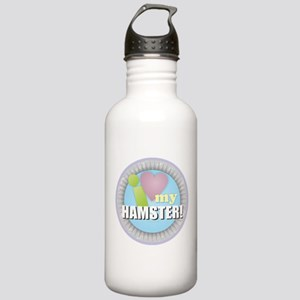 I Love My Hamster Stainless Water Bottle 1.0L