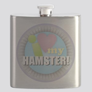 I Love My Hamster Flask