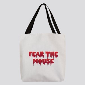 Fear the Mouse Polyester Tote Bag