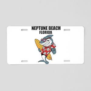 Neptune Beach, Florida Aluminum License Plate