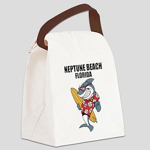 Neptune Beach, Florida Canvas Lunch Bag
