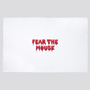 Fear the Mouse 4' x 6' Rug
