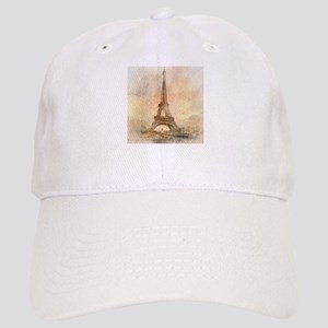 Vintage Paris Baseball Cap