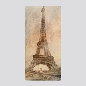 Vintage Paris Beach Towel
